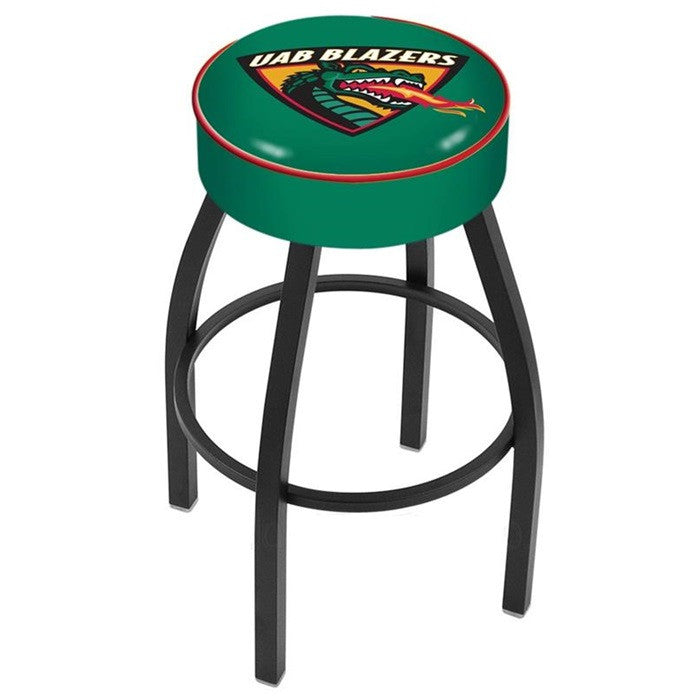 Alabama at Birmingham Blazers Black Bar Stool - SportsFansPlus.com