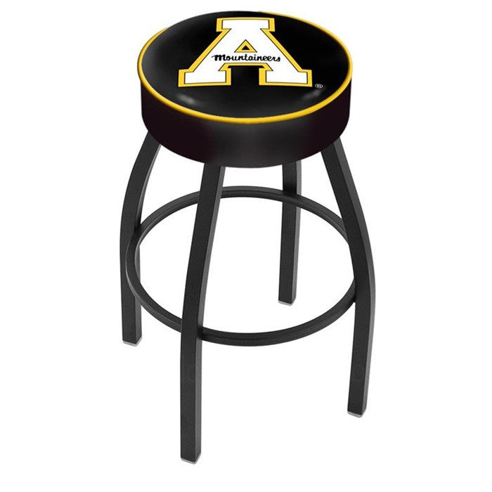 Appalachian State Mountaineers Black Bar Stool - Sports Fans Plus - 1
