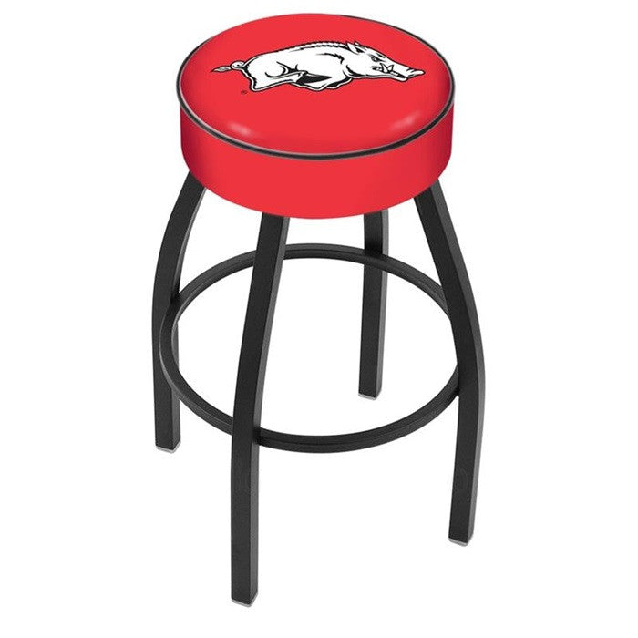 Arkansas Razorbacks Black Bar Stool - Sports Fans Plus