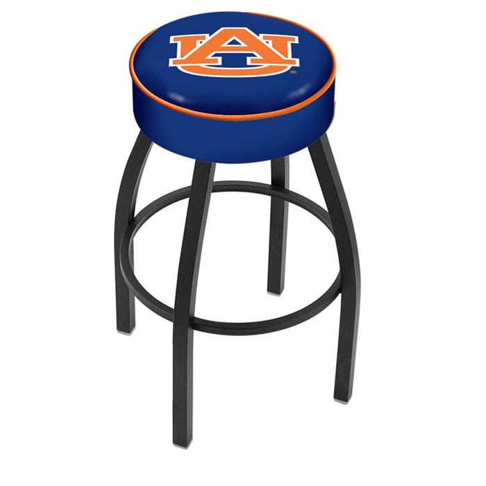Auburn Tigers Black Bar Stool - Sports Fans Plus