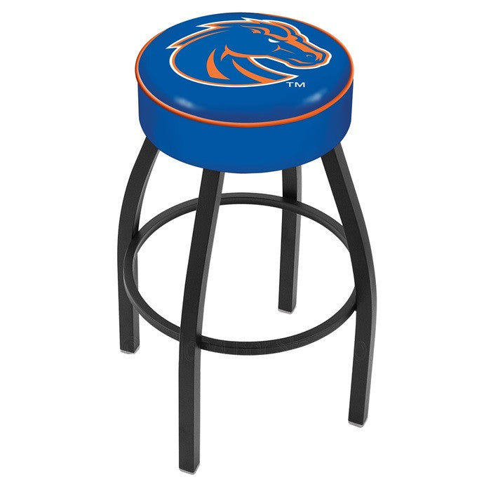 Boise State Broncos Black Bar Stool - Sports Fans Plus  - 1