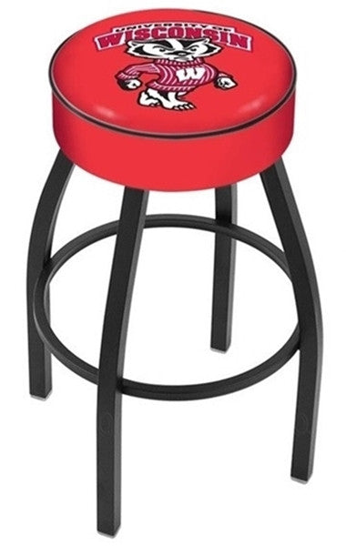 "Wisconsin Badgers 4"" Seat Bar Stool - Bucky"