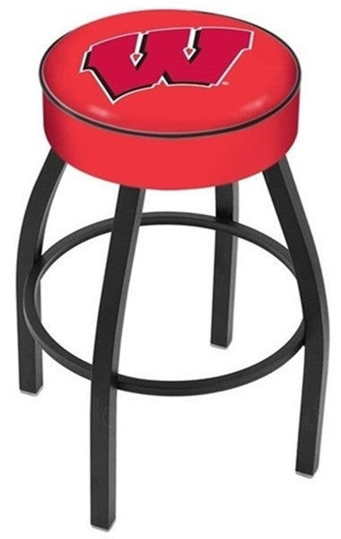 "Wisconsin Badgers 4"" Seat Bar Stool - ""W"""