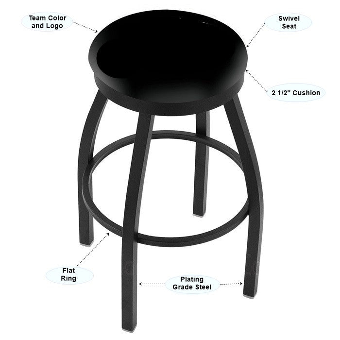 Appalachian State Mountaineers Flat Ring Bar Stool - Sports Fans Plus - 2