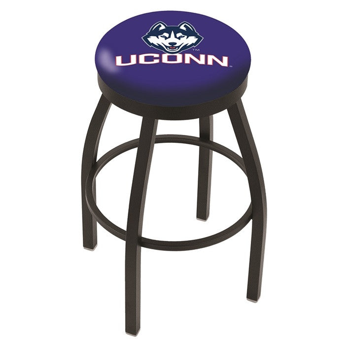 UConn Huskies Flat Ring Bar Stool - Sports Fans Plus