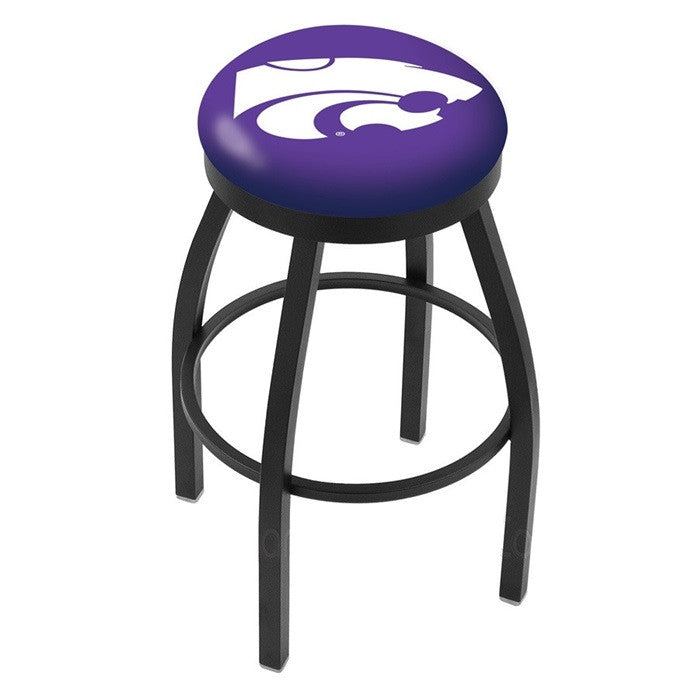 Kansas State Wildcats Flat Ring Bar Stool - Sports Fans Plus