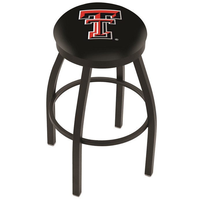 Texas Tech Red Raiders Flat Ring Bar Stool - Sports Fans Plus