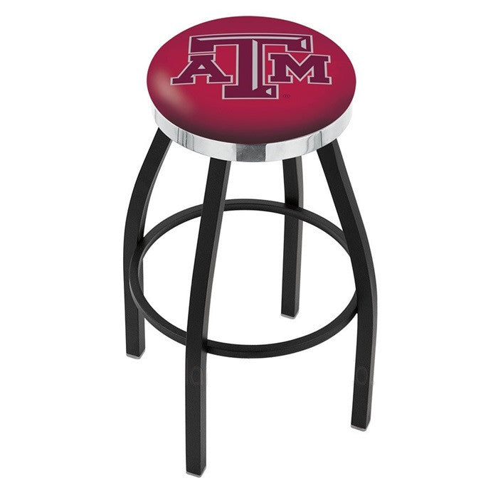 Texas A&M Aggies Flat Ring Bar Stool - Sports Fans Plus