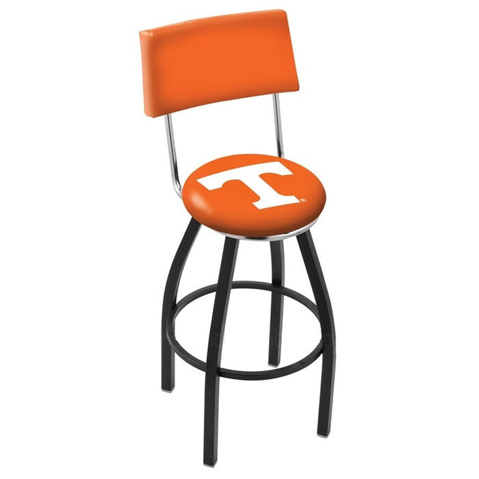 Tennessee Volunteers Bar Stool with Back - Sports Fans Plus