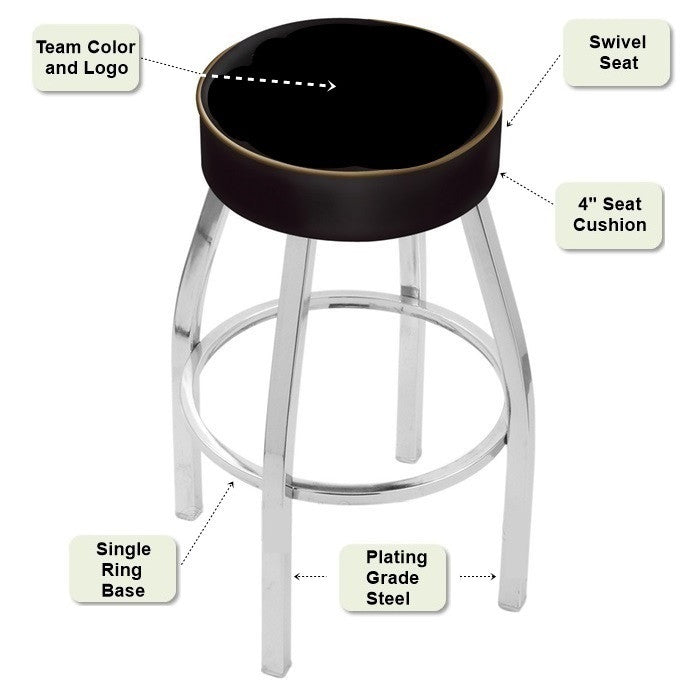 Chrome Bar Stool Features