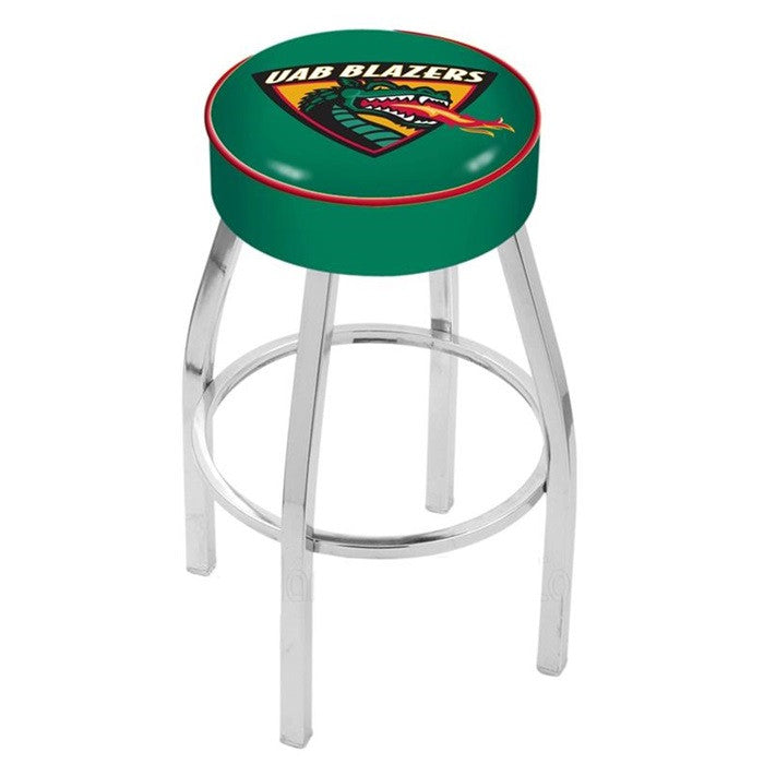 Alabama at Birmingham Blazers Chrome Bar Stool - SportsFansPlus.com