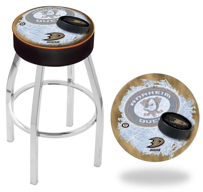 Anaheim Ducks NHL D2 Chrome Bar Stool