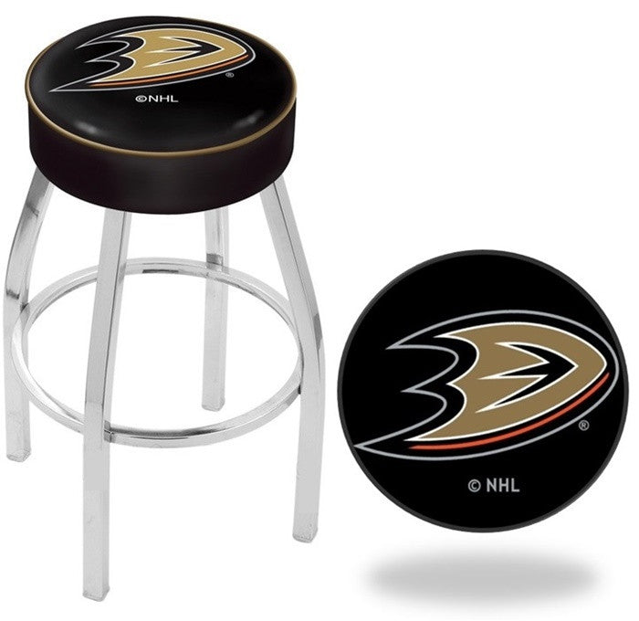 Anaheim Ducks NHL D1 Chrome Bar Stool