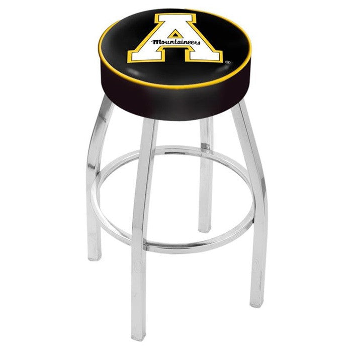 "Appalachian State Mountaineers 4"" Seat Bar Stool - Sports Fans Plus - 1"