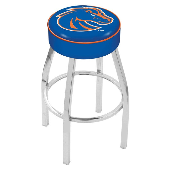 "Boise State Broncos 4"" Seat Bar Stool - Sports Fans Plus"