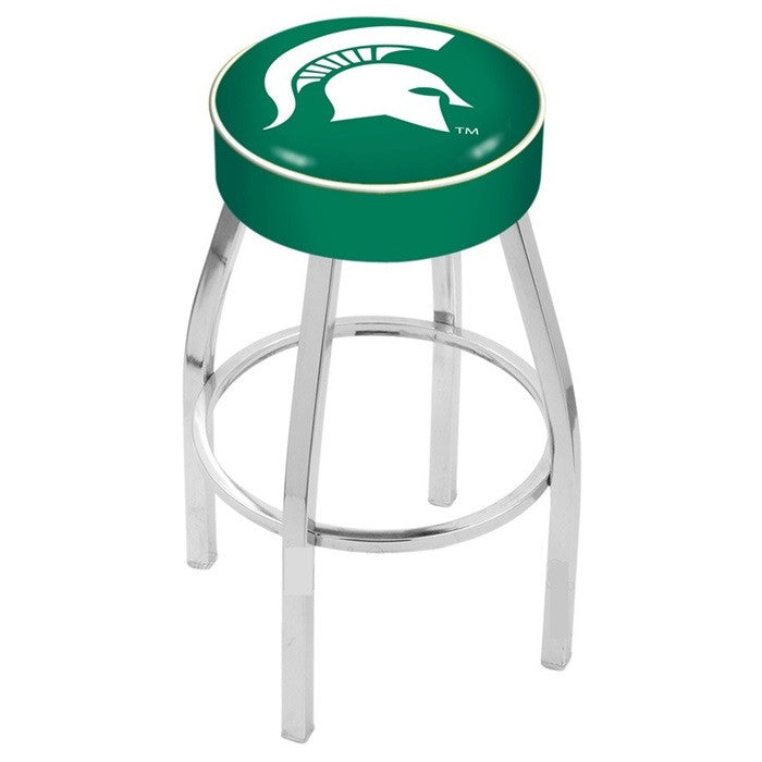"Michigan State Spartans 4"" Seat Bar Stool - Sports Fans Plus"