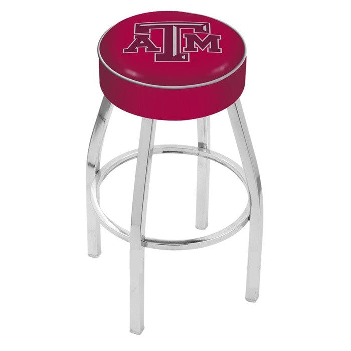 "Texas A&M Aggies 4"" Seat Bar Stool - Sports Fans Plus"