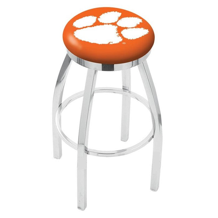 Clemson Tigers Flat Ring Bar Stool - Sports Fans Plus