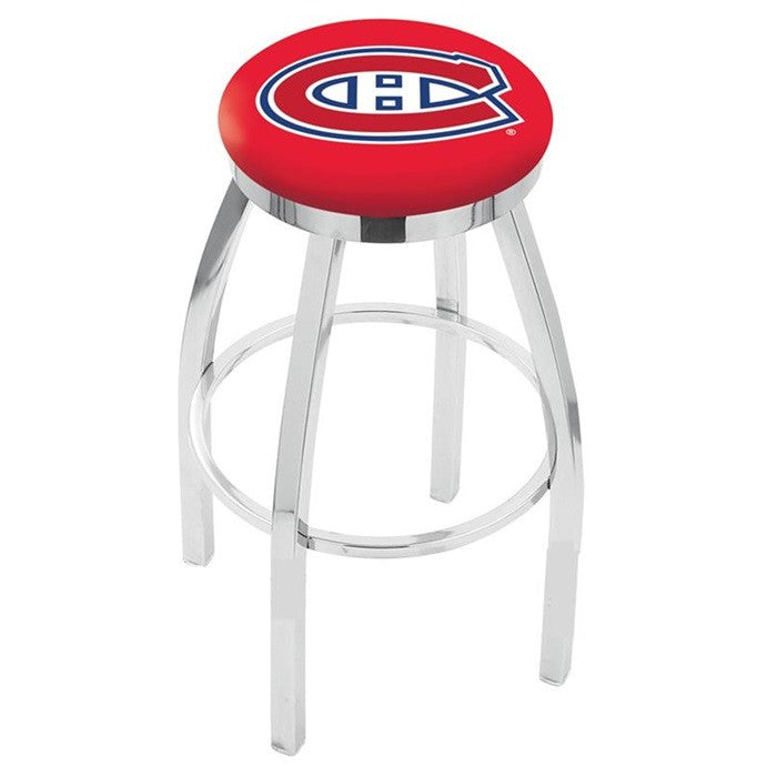 Montreal Canadiens Flat Ring Bar Stool - Sports Fans Plus