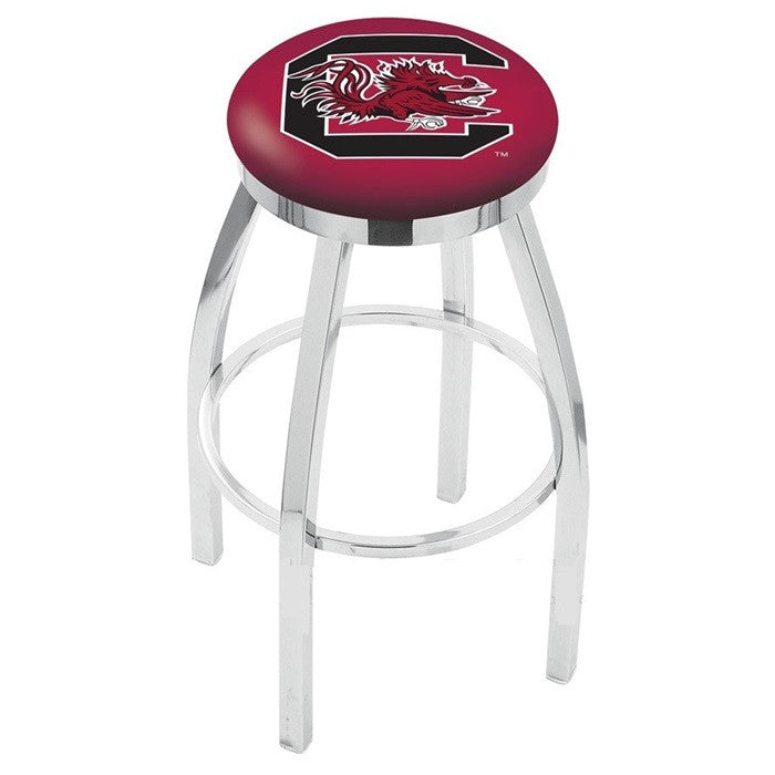 South Carolina Gamecocks Flat Ring Bar Stool - Sports Fans Plus