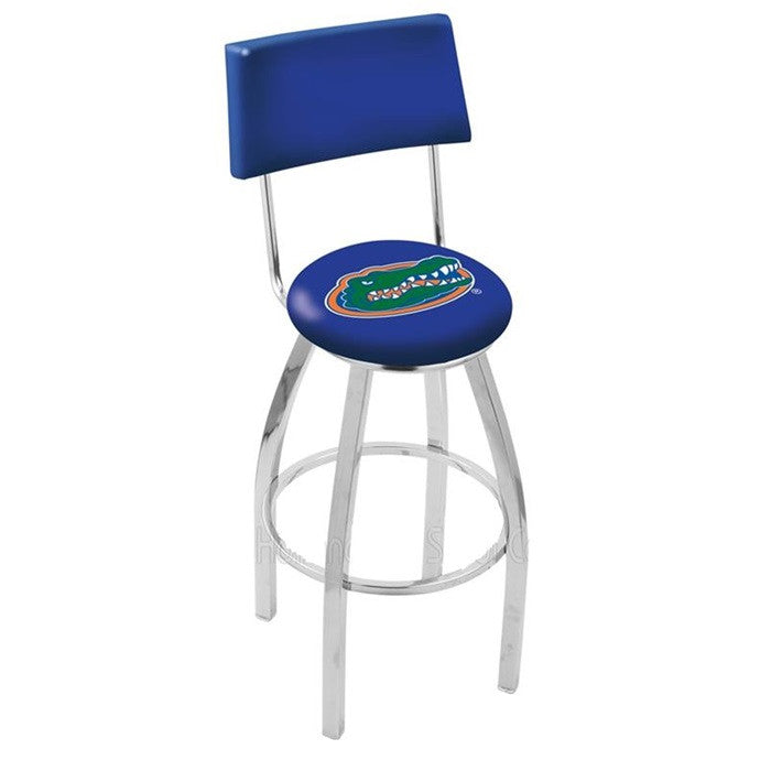 Florida Gators Bar Stool with Back - Sports Fans Plus