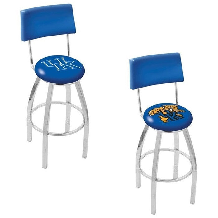 Kentucky Wildcats Bar Stool with Back