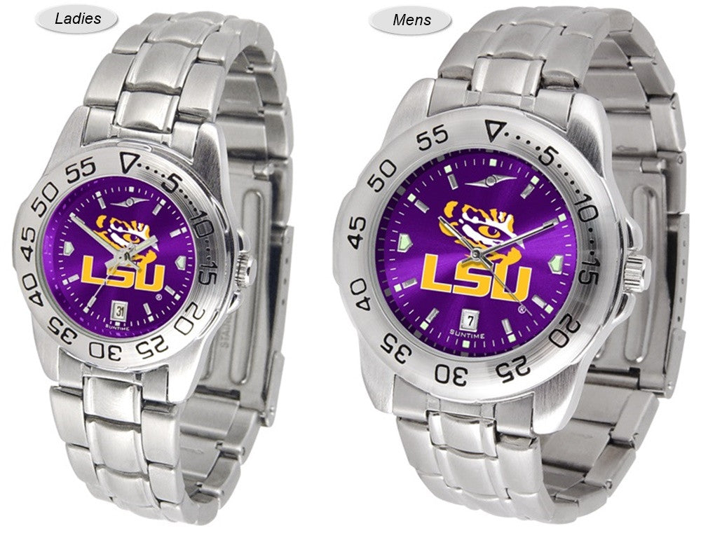 Louisiana State Tigers Sport Steel AnoChrome Watch