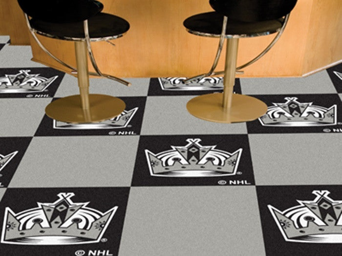 Los Angeles Kings NHL Carpet Tiles - Sports Fans Plus  - 1