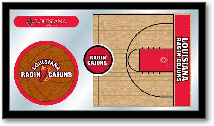 Louisiana at Lafayette Ragin' Cajuns Basketball Team Sports Mirror
