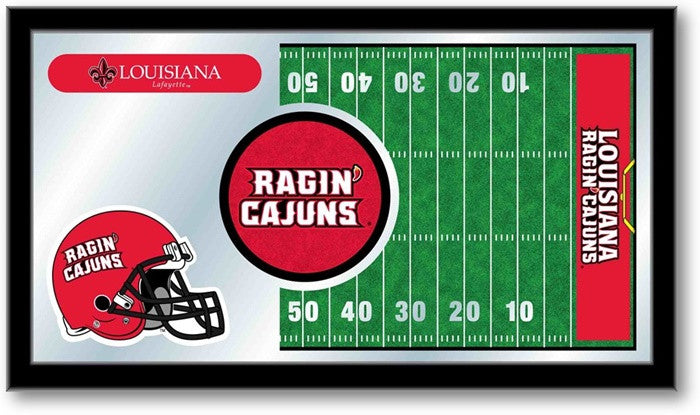 Louisiana at Lafayette Ragin' Cajuns Football Team Sports Mirror