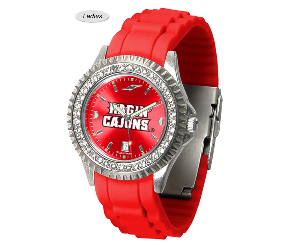Louisiana Lafayette Ragin' Cajuns Sparkle Watch