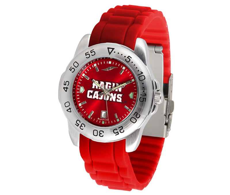 Louisiana Lafayette Ragin' Cajuns Sport AnoChrome Watch