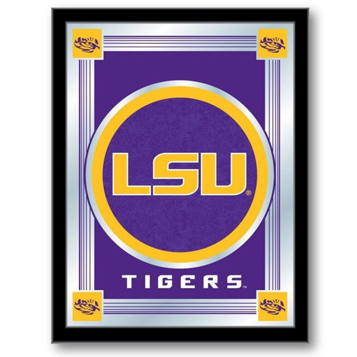 Louisiana State Tigers Logo Mirror