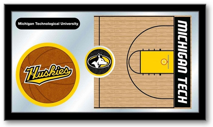 Michigan Tech Huskies Basketball Team Sports Mirror