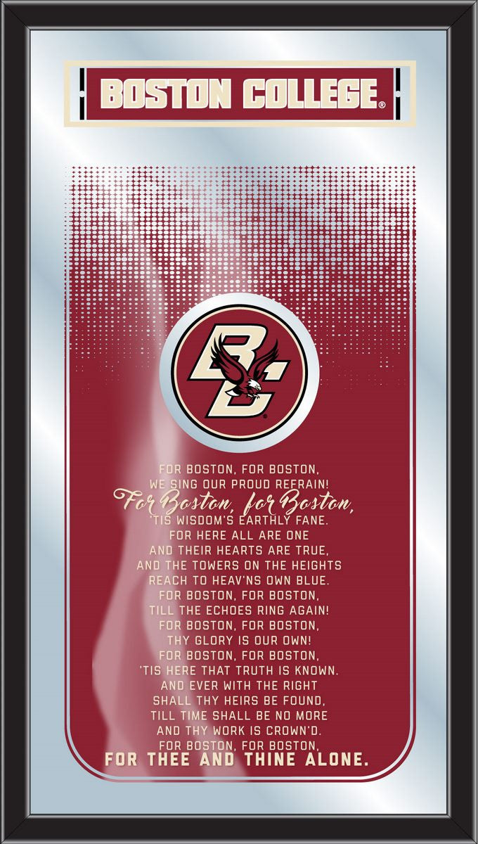 Boston College Eagles Fight Song Mirror