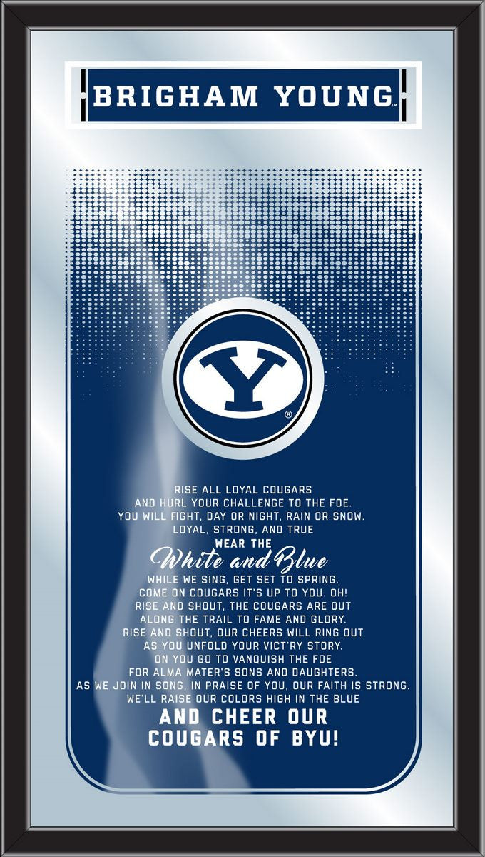 Brigham Young Cougars Fight Song Mirror