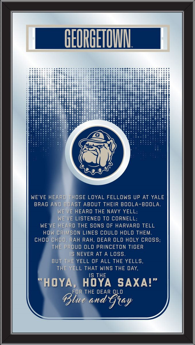Georgetown Hoyas Fight Song Mirror