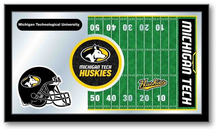 Michigan Tech Huskies Football Team Sports Mirror