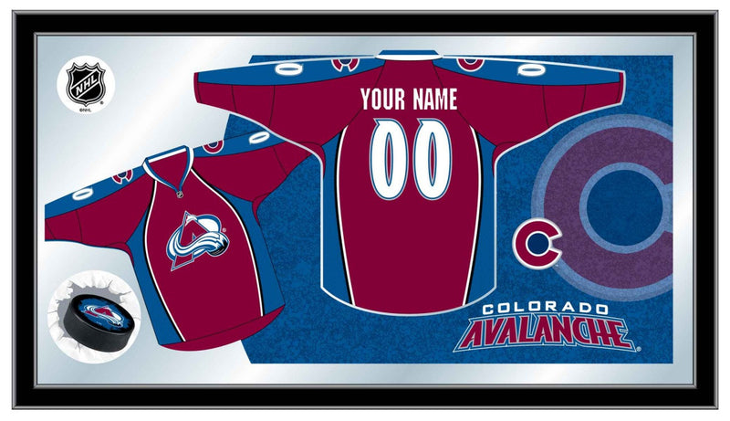 Colorado Avalanche NHL Jersey Mirror