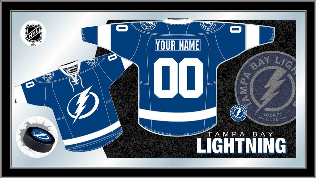 Tampa Bay Lightning NHL Jersey Mirror