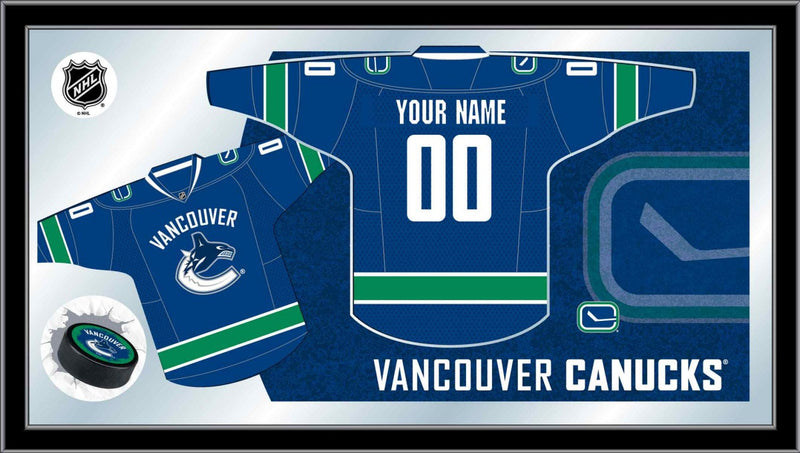 Vancouver Canucks NHL Jersey Mirror