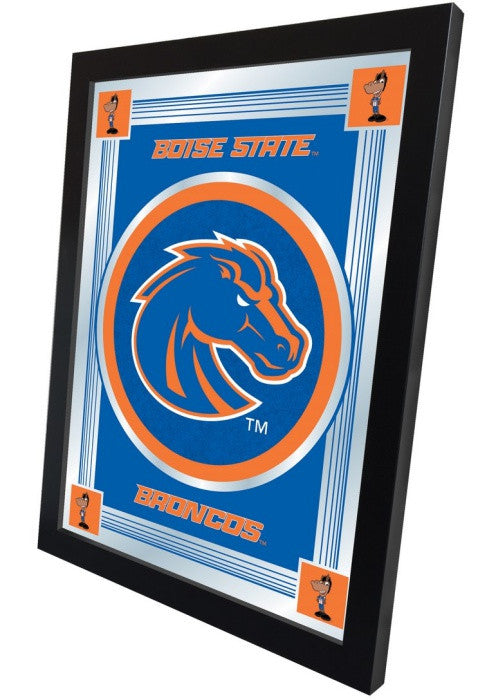 Boise State Broncos Logo Mirror (side view)