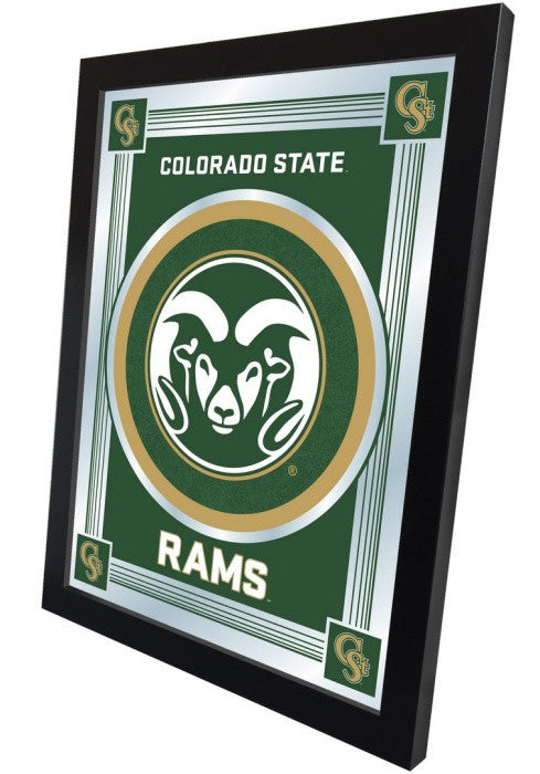 Colorado State Rams Logo Mirror (side view)