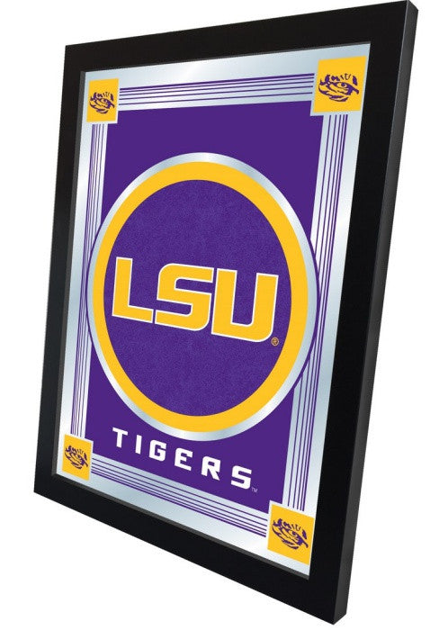 Louisiana State Tigers Logo Mirror (side view)