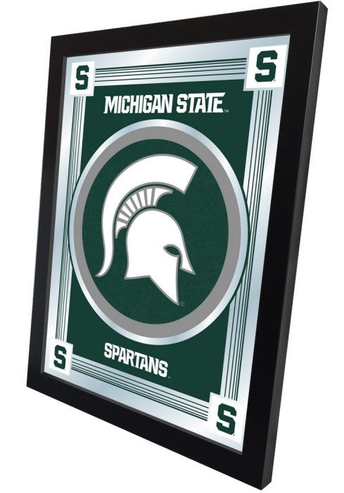 Michigan State Spartans Logo Mirror (side view)
