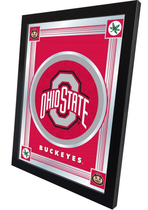 Ohio State Buckeyes Logo Mirror (side view)