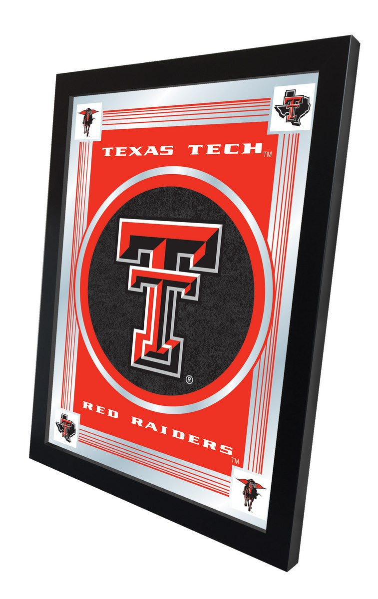 Texas Tech Red Raiders Logo Mirror (side view)