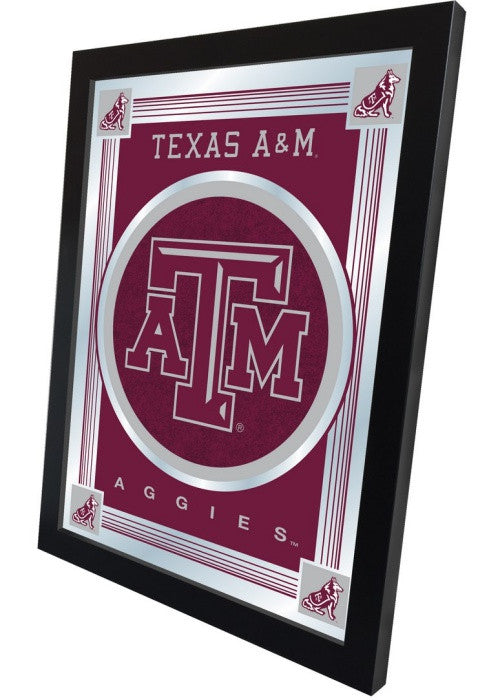 Texas A&M Aggies Logo Mirror (side view)