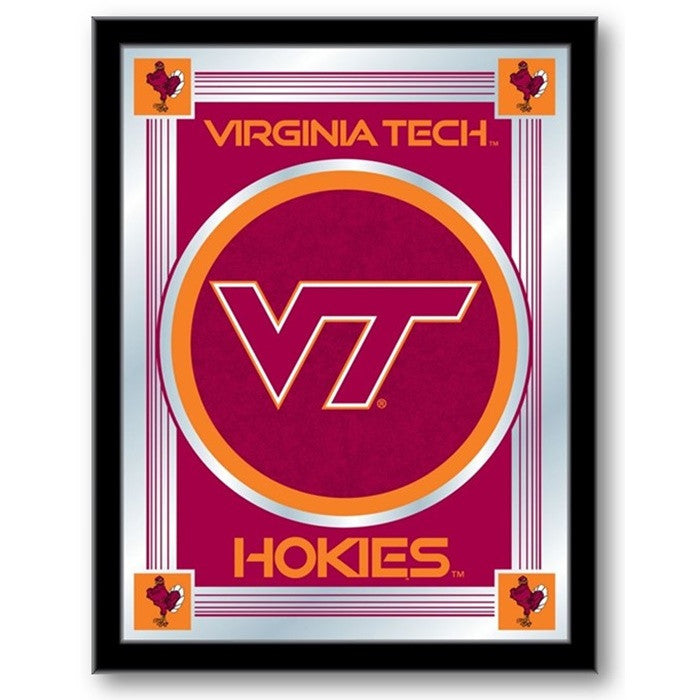Virginia Tech Hokies Logo Mirror