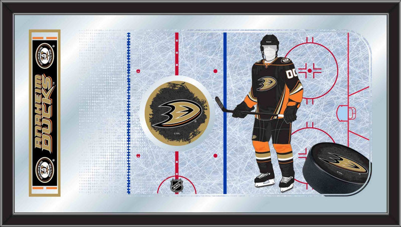Anaheim Ducks NHL Rink Mirror
